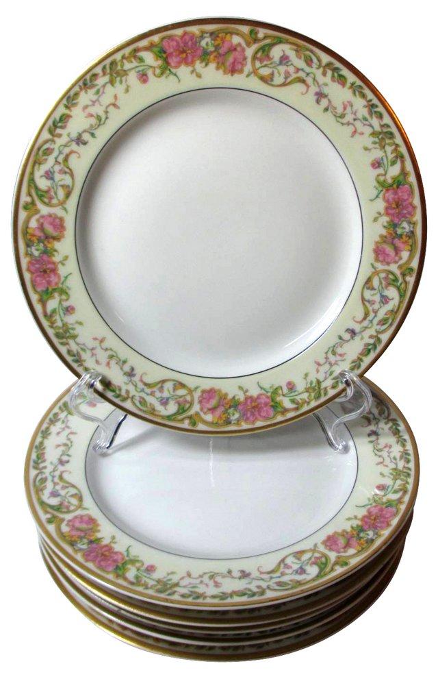 Haviland Dessert Plates, S/6