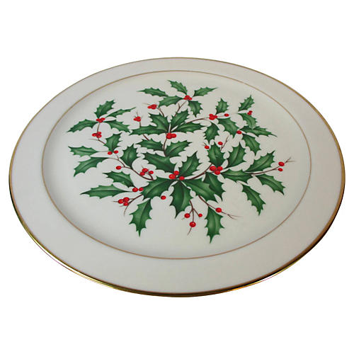 Lenox Holly Serving Charger