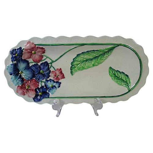 Carlton Ware Floral Serving Tray