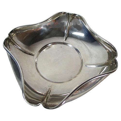 Sterling Silver Bowl w/ Rolled Edges