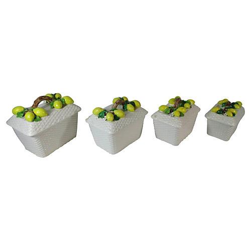 Lemons & Branches Canister Set, S/4