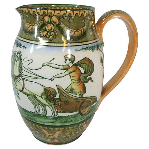 Royal Doulton Chariot Race Pitcher