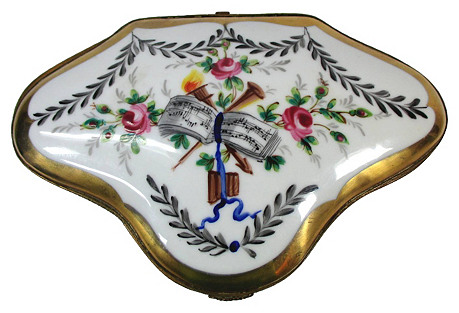 Hand-Painted Limoges Box