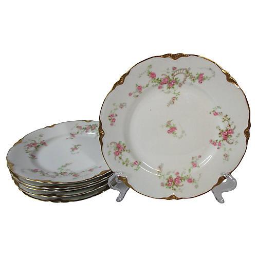 Warwick Dessert Plates, S/6