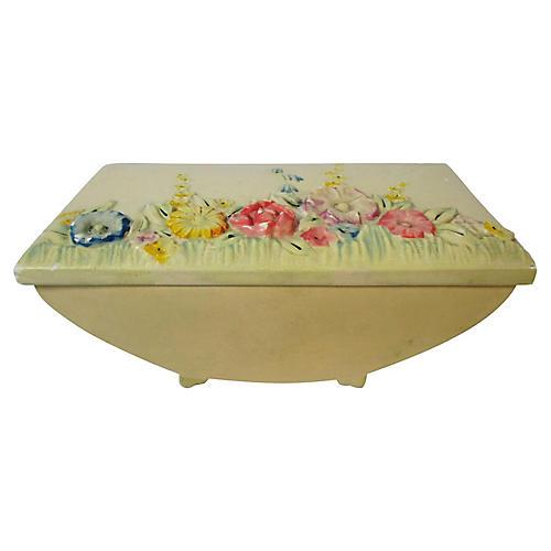 English Art Nouveau Trinket Box