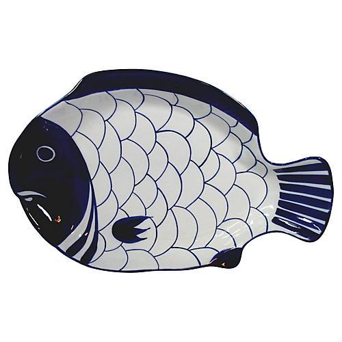 Dansk Fish Serving Dish