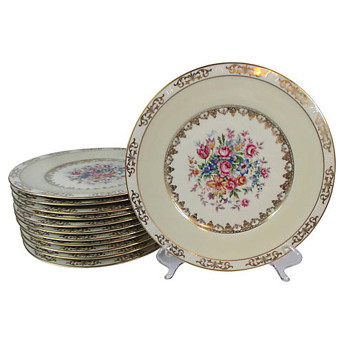 Ovingtons Plates, S/12