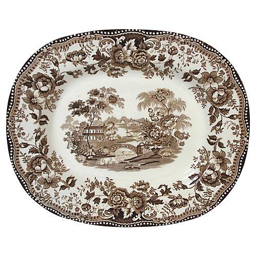 Staffordshire Clarice Cliff Platter