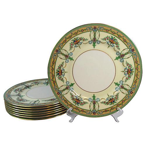 Lenox Dinner Plates, S/8