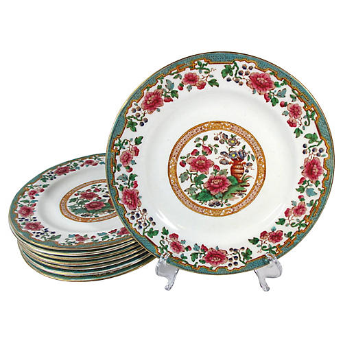 Hammersley Lunch Plates, S/8
