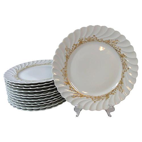 Haviland Limoges Dinner Plates, S/12