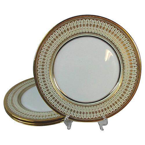 Royal Doulton Dinner Plates, S/4