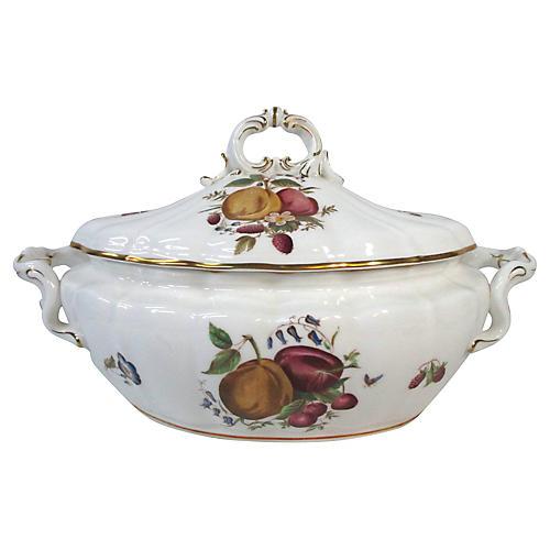 Royal Worcester Fruit Soup Tureen