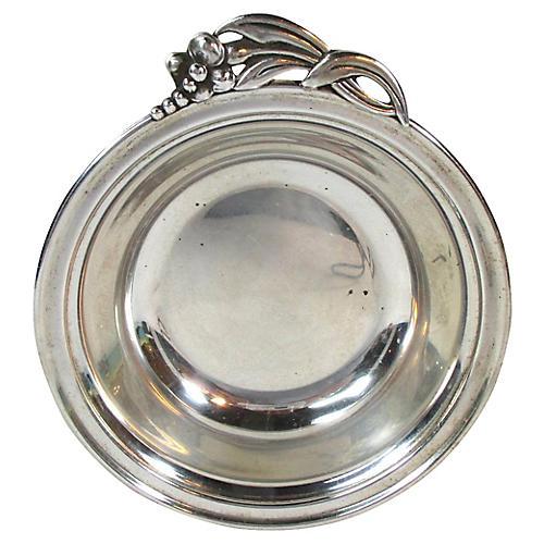 Randahl Art Deco Sterling Silver Dish