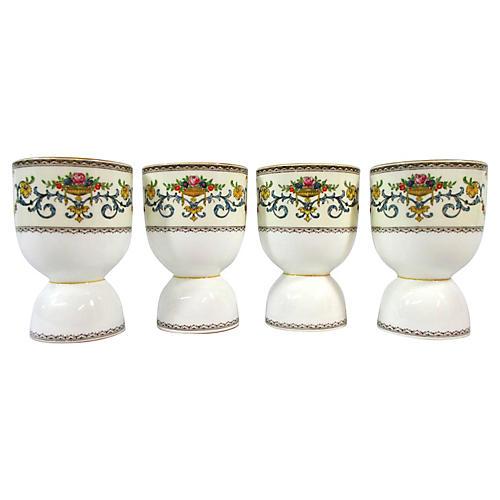 Minton Porcelain Egg Cups, S/4