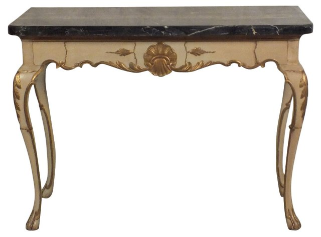 Marble-Top   Console