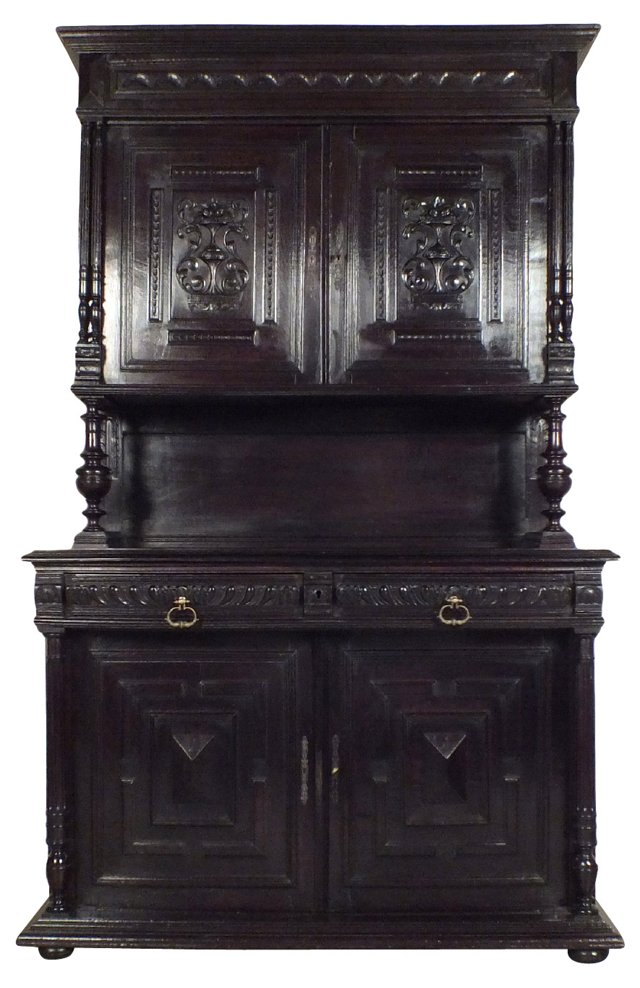Antique French Henri II-Style Buffet