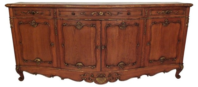 French Louis XV-Style Server, 1920