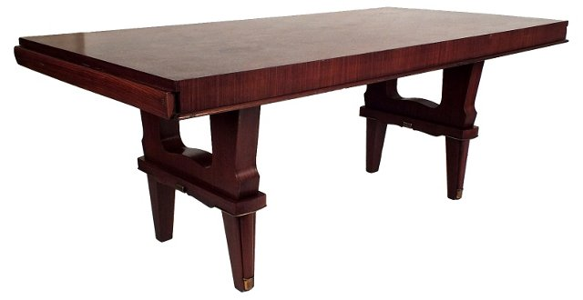 Art Deco-Style Dining Table (HOLD)