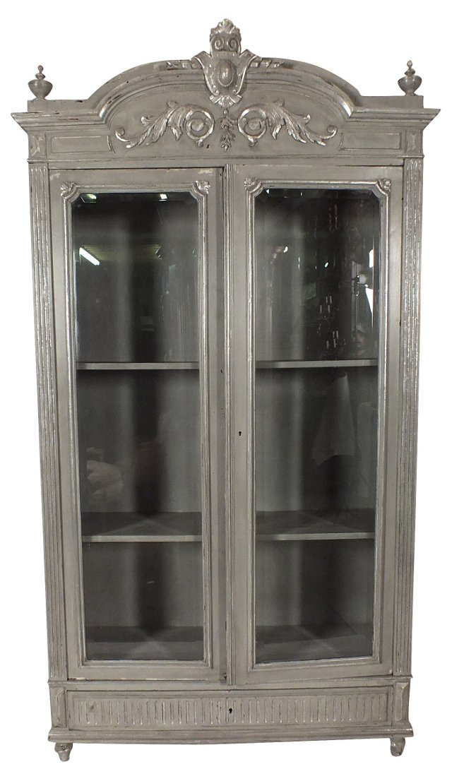 Early-20th-C. French Display Cabinet