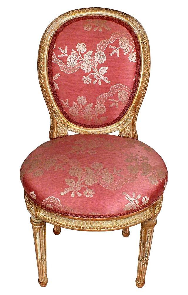 Louis XVI-Style Vanity Chair