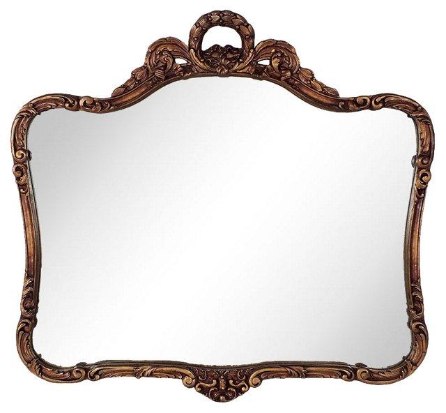 Ribbon-Framed Wall Mirror HOLD