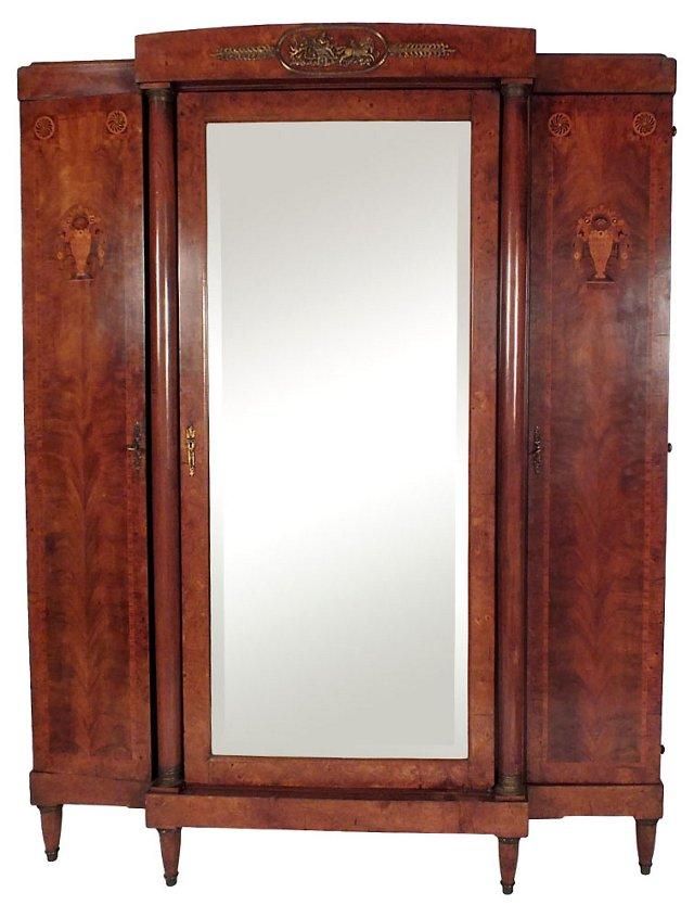 French 3-Door   Armoire