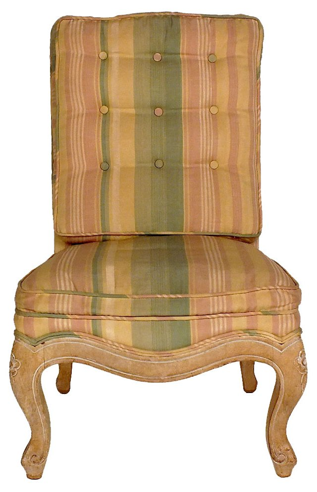 French Upholstered Child's   Chair