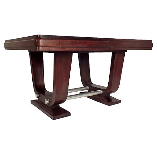 French Art Deco-Style Dining Table