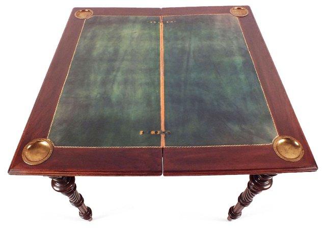 Antique Louis XVI-Style Card Table