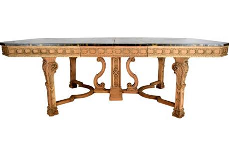 1900s Regency Dining Table