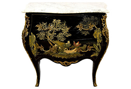 French Chinoiserie Chest of Drawers
