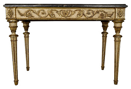 1950s French Louis XVI-Style   Console