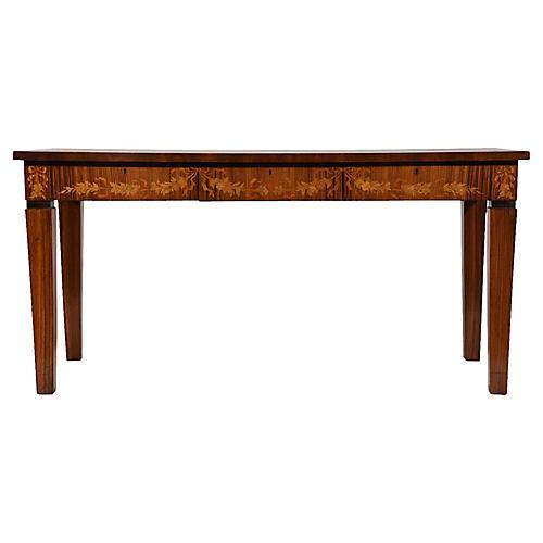 Neoclassical-Style Italian Desk, C. 1930