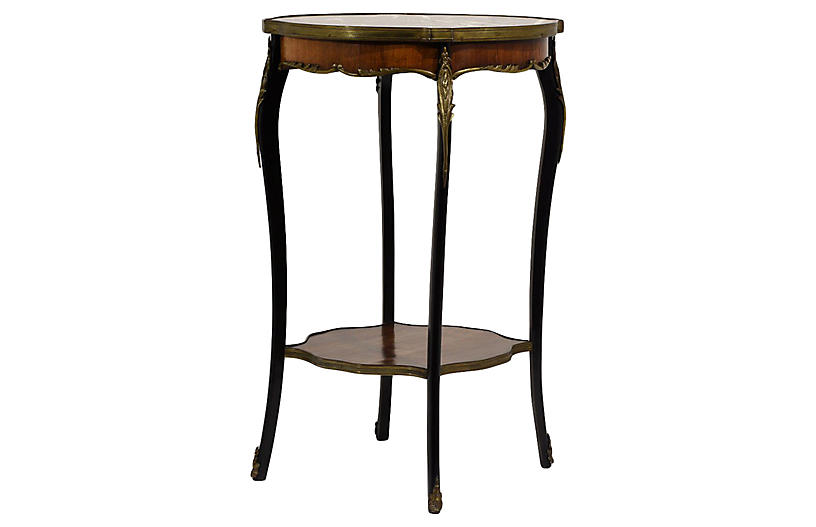 French Louis XV-Style Side Table