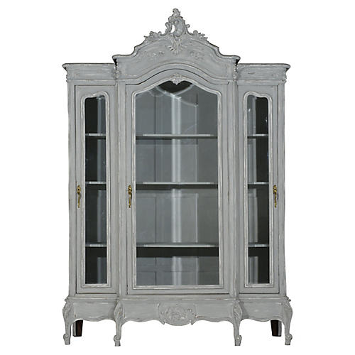 French Louis XV-Style Bookcase