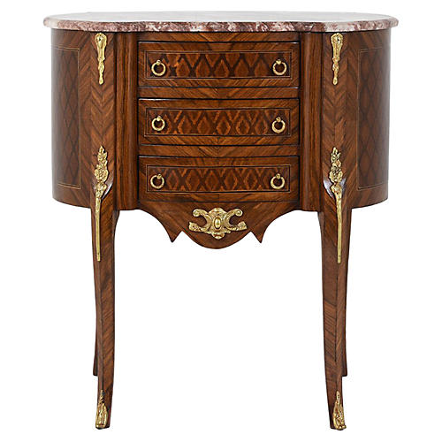 French Louis XVI-Style Side Table