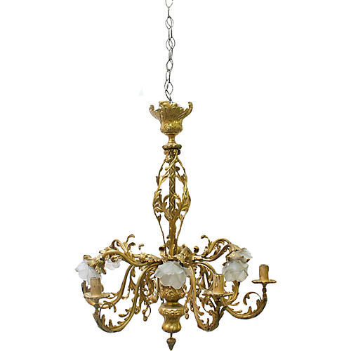 French Louis XVI-Style Chandelier