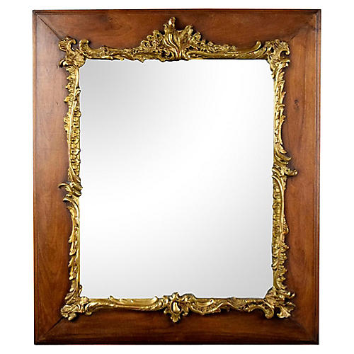 Antique French Louis XVI-style Mirror