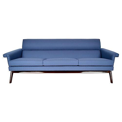 Mid-Century Poul Jensen 3 Seat Sofa