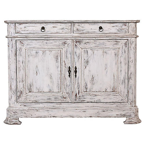 French Louis Philippe Distressed Buffet
