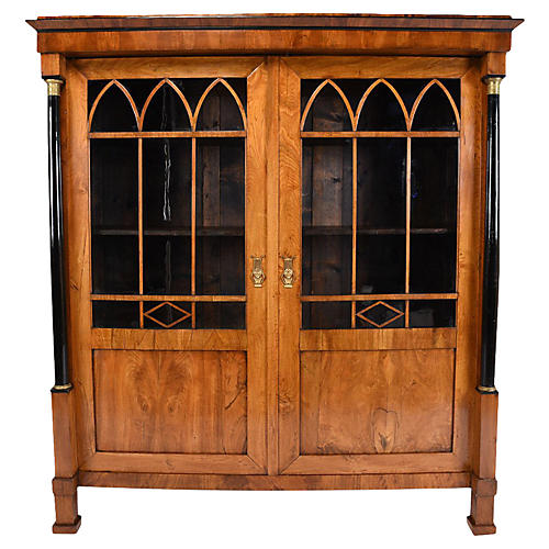 French Empire-style Bookcase