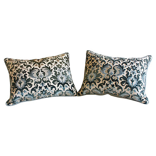 Baroque-Style Pillows, Pair