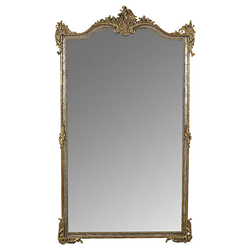Grand French Mirror in Louis XVI Style