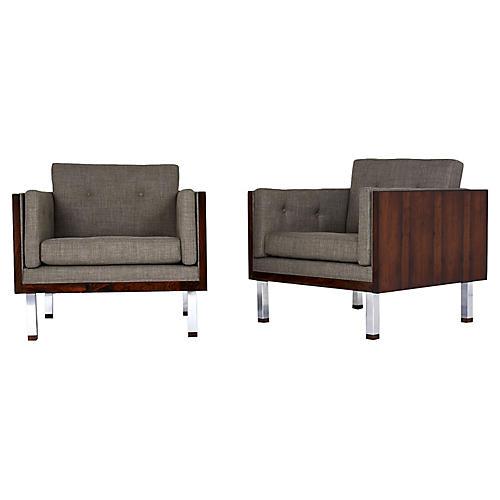 Jydsk Mobelvaerk Cube Lounge Chairs