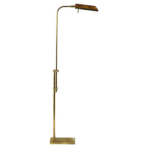 Modern Brass Adjustable Floor Lamp