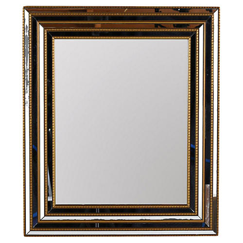 Vintage Gilded Wall Mirror