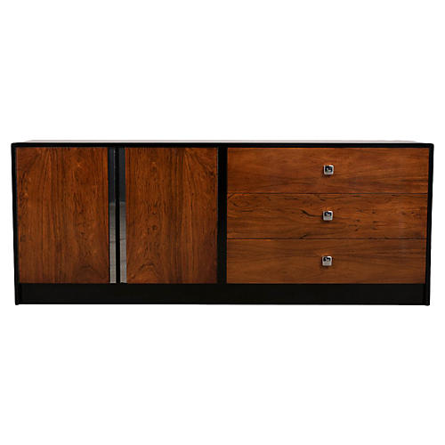 Modern Milo Baughman Style Dresser