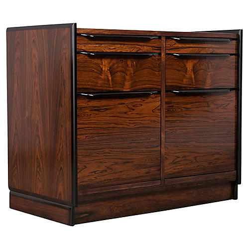 Modern Rosewood Chest of Drawers