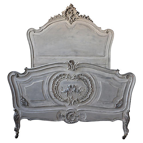 French 19th Century Louis XV Bed Frame